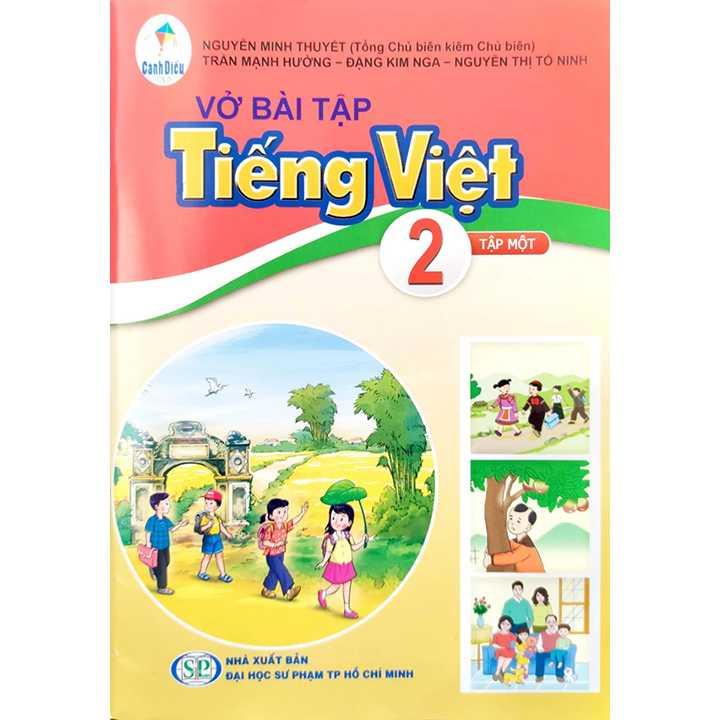 Vở Bài Tập Tiếng Việt - Lớp 2 - Tập 1 - Bộ Cánh Diều