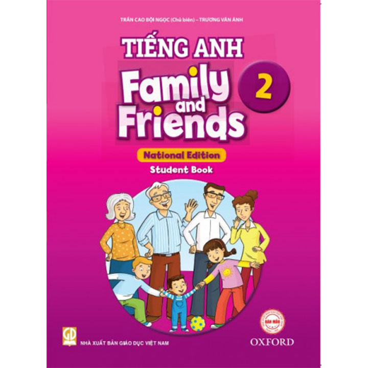 Tiếng Anh 2 - Family And Friends - Student Book - Bộ Chân Trời