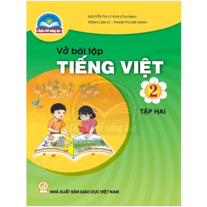 Vở bài tập Tiếng Việt 2 - Tập 2 - Bộ Chân Trời