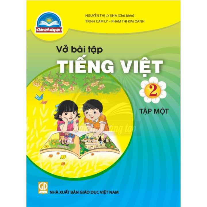 Vở bài tập Tiếng Việt 2 - Tập 1 - Bộ Chân Trời
