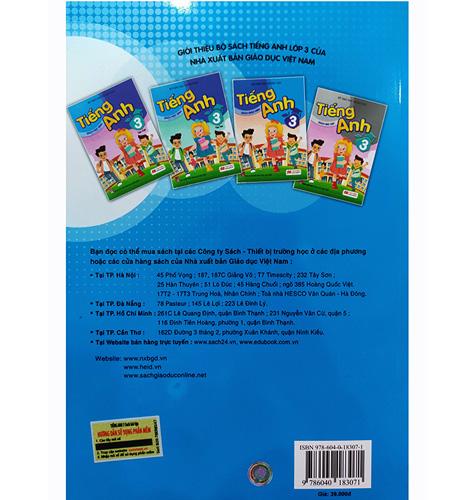 Tiếng Anh Lớp 3 - Sách Bài Tập - Ảnh 4