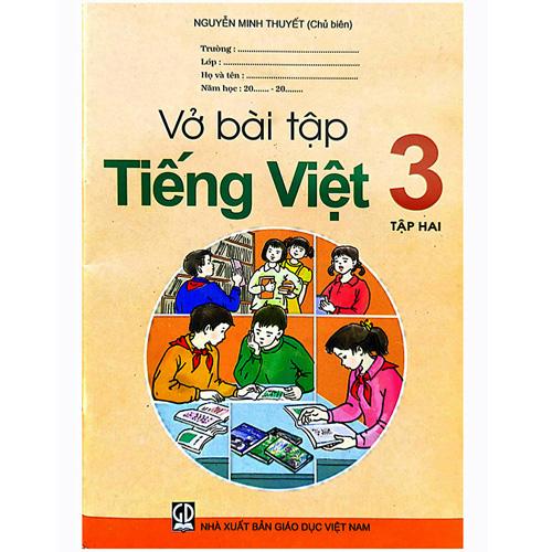 Vở Bài Tập Tiếng Việt Lớp 3 - Tập 2
