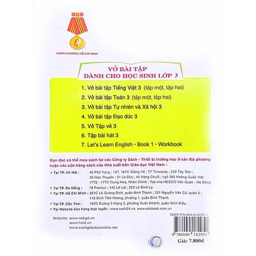 Vở Bài Tập Tiếng Việt Lớp 3 - Tập 2 - Ảnh 4