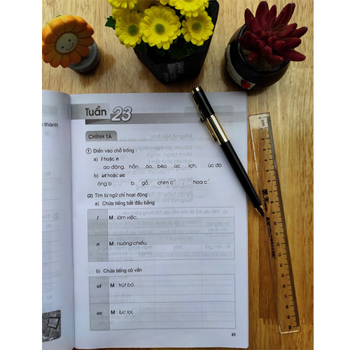 Vở Bài Tập Tiếng Việt Lớp 3 - Tập 2 - Ảnh 1