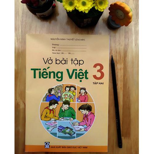 Vở Bài Tập Tiếng Việt Lớp 3 - Tập 2 - Ảnh 3