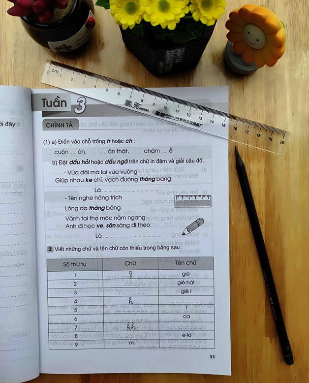 Vở Bài Tập Tiếng Việt Lớp 3 - Tập 1 - Ảnh 1