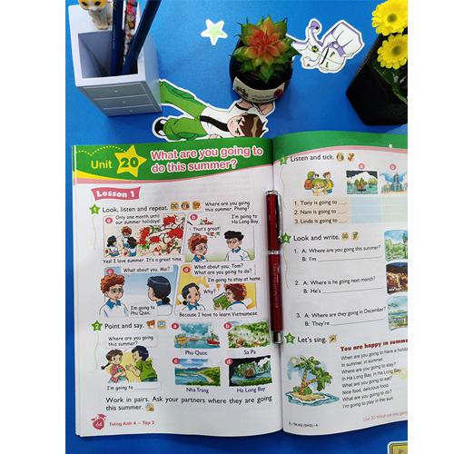Tiếng Anh Lớp 4 - Sách Học Sinh - Tập 2 (Kèm CD) - Ảnh 2