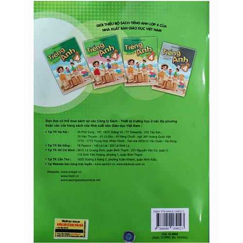Tiếng Anh Lớp 4 - Sách Học Sinh - Tập 2 (Kèm CD) - Ảnh 4