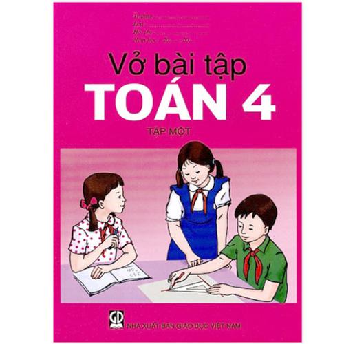 Vở Bài Tập Toán Lớp 4 - Tập 1