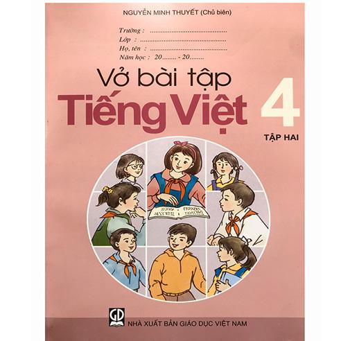 Vở Bài Tập Tiếng Việt Lớp 4 - Tập 2