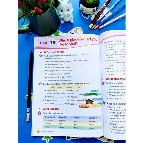 Tiếng Anh Lớp 5 - Sách Bài Tập - Ảnh 2