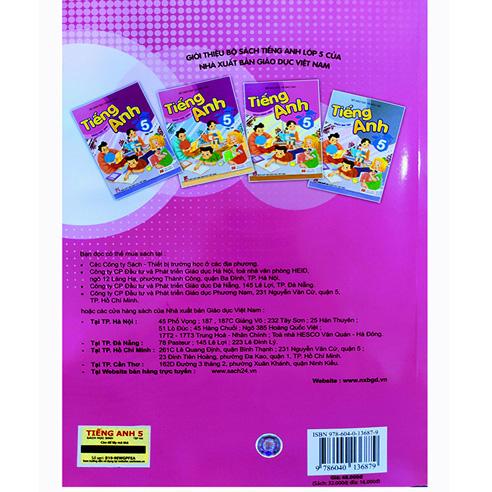Tiếng Anh Lớp 5 - Sách Học Sinh - Tập 2 (Kèm CD) - Ảnh 4