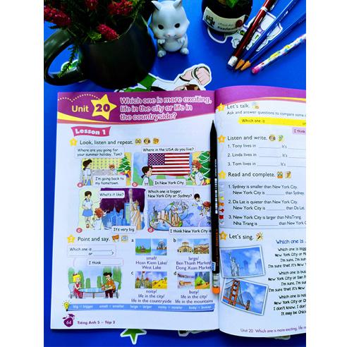 Tiếng Anh Lớp 5 - Sách Học Sinh - Tập 2 (Kèm CD) - Ảnh 2