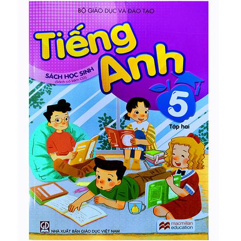 Tiếng Anh Lớp 5 - Sách Học Sinh - Tập 2 (Kèm CD)