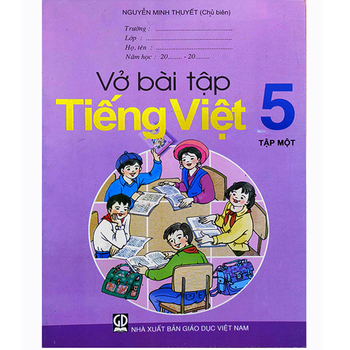 Vở Bài Tập Tiếng Việt Lớp 5 - Tập 1