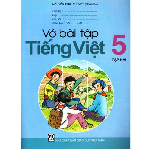 Vở Bài Tập Tiếng Việt Lớp 5 - Tập 2