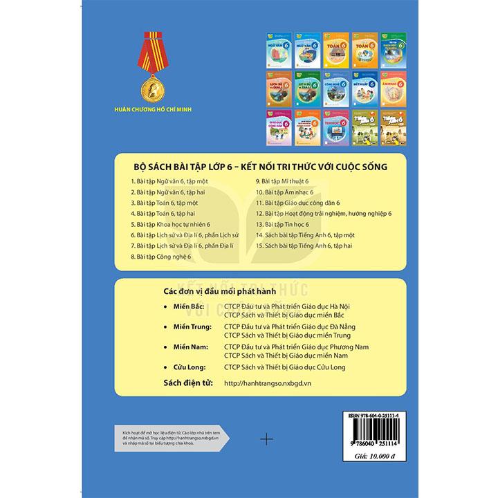 Bài tập Công nghệ Lớp 6 - Bộ Kết Nối - Ảnh 2
