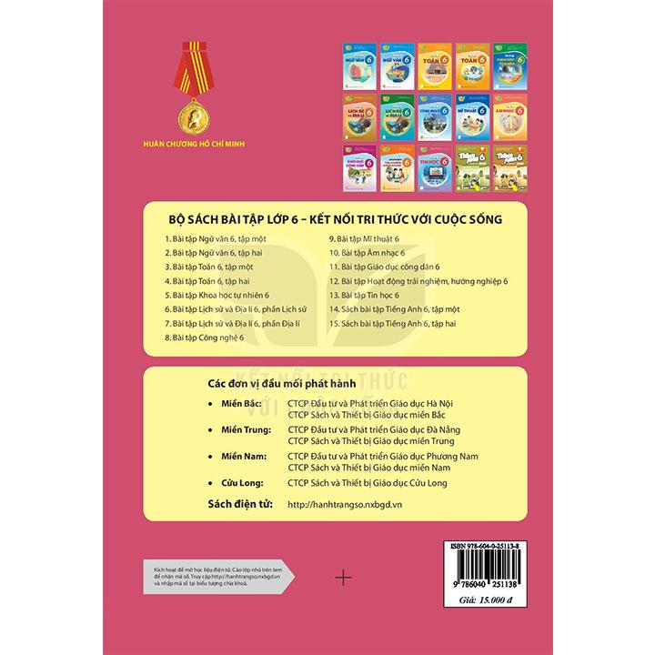 Bài tập Tin học 6 - Bộ Kết Nối - Ảnh 2