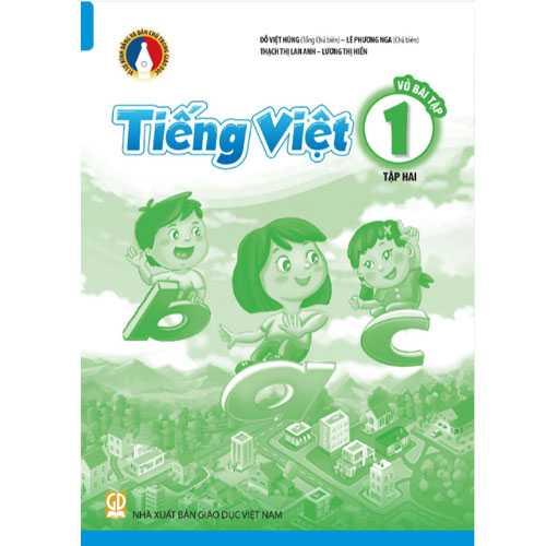 Vở Bài Tập Tiếng Việt 1 - Tập 2 - Bộ Bình Đẳng