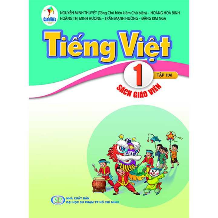 Tiếng Việt 1 - Tập 2 - SÁCH GIÁO VIÊN - Bộ Cánh Diều
