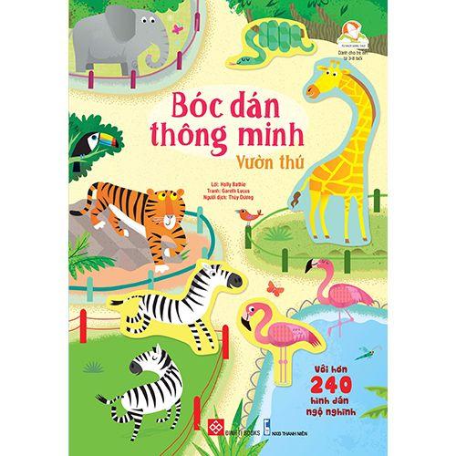 Bóc Dán Thông Minh - Vườn Thú