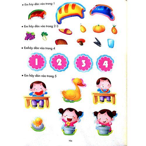 200 Miếng Bóc Dán Thông Minh - Phát Triển Chỉ Số Thông Minh IQ - Tập 2 (Dành Cho Trẻ 2-10 Tuổi) - Ảnh 6