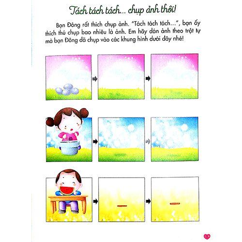 200 Miếng Bóc Dán Thông Minh - Phát Triển Chỉ Số Thông Minh IQ - Tập 2 (Dành Cho Trẻ 2-10 Tuổi) - Ảnh 4