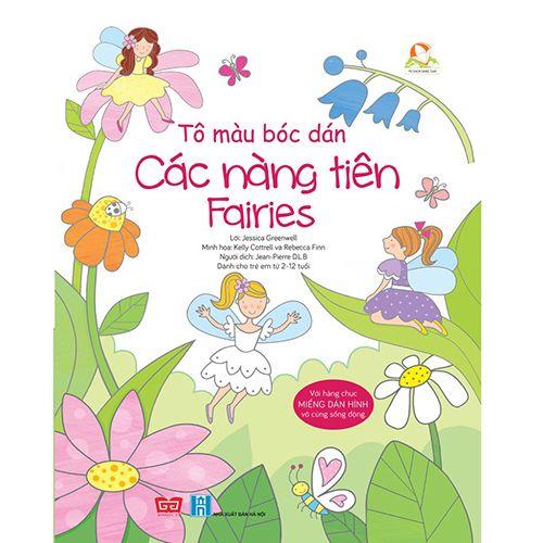 Tô Màu Bóc Dán - Các Nàng Tiên - Fairies