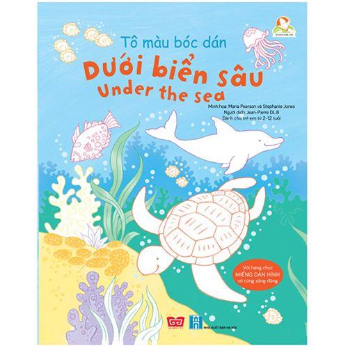 Tô Màu Bóc Dán - Dưới Biển Sâu - Under The Sea