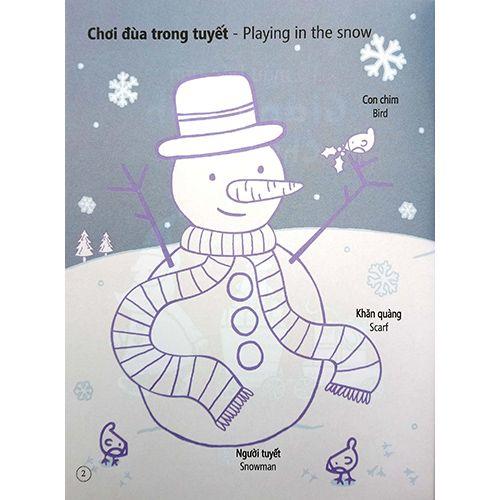 Tô Màu Bóc Dán - Giáng Sinh - Christmas - Ảnh 5
