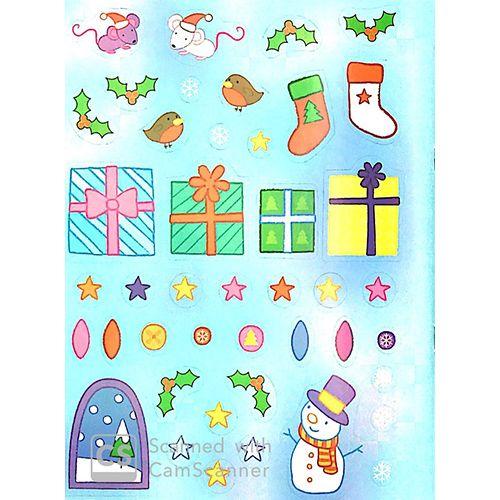 Tô Màu Bóc Dán - Ông Già Noel - Santa - Ảnh 6