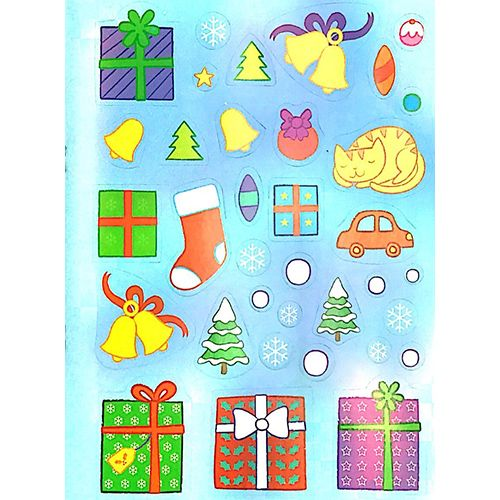 Tô Màu Bóc Dán - Ông Già Noel - Santa - Ảnh 5