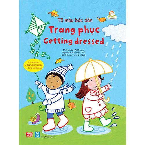 Tô Màu Bóc Dán - Trang Phục - Getting Dressed