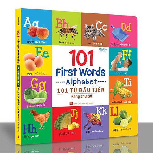 101 First Words - Alphabet / 101 Từ Đầu Tiên - Bảng Chữ Cái - Ảnh 2