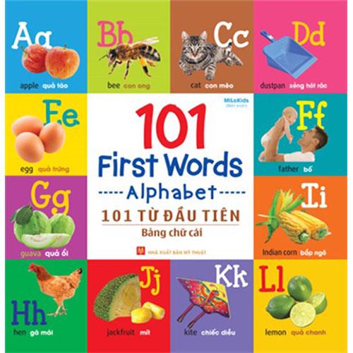 101 First Words - Alphabet / 101 Từ Đầu Tiên - Bảng Chữ Cái