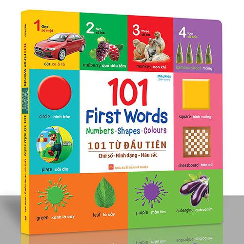 101 First Words: Numbers - Shapes - Colours / 101 Từ Đầu Tiên: Chữ Số - Hình Dạng - Màu Sắc - Ảnh 2