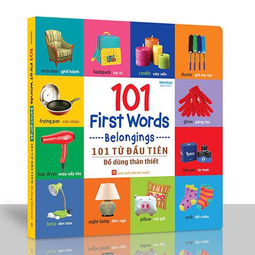101 First Words - Belongings / 101 Từ Đầu Tiên - Đồ Dùng Thân Thiết - Ảnh 2