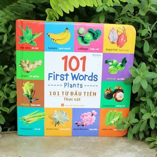 101 First Words - Plants / 101 Từ Đầu Tiên - Thực Vật - Ảnh 4