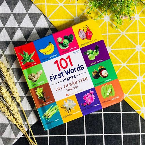 101 First Words - Plants / 101 Từ Đầu Tiên - Thực Vật - Ảnh 3