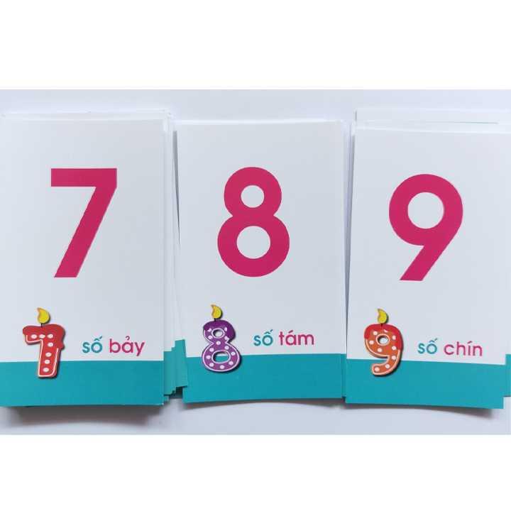 Thẻ học chữ cái và số đếm - Ảnh 2