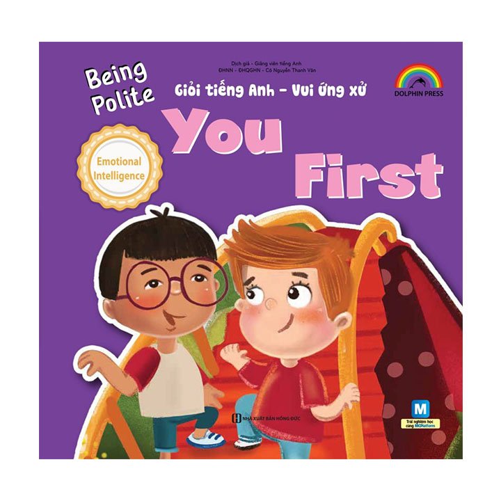 Being polite – You first