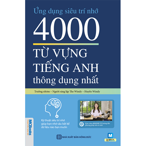 Ứng dụng siêu trí nhớ 4000 từ vựng tiếng Anh thông dụng nhất