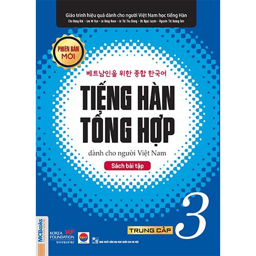 Sách bài tập Tiếng Hàn Tổng hợp trung cấp 3