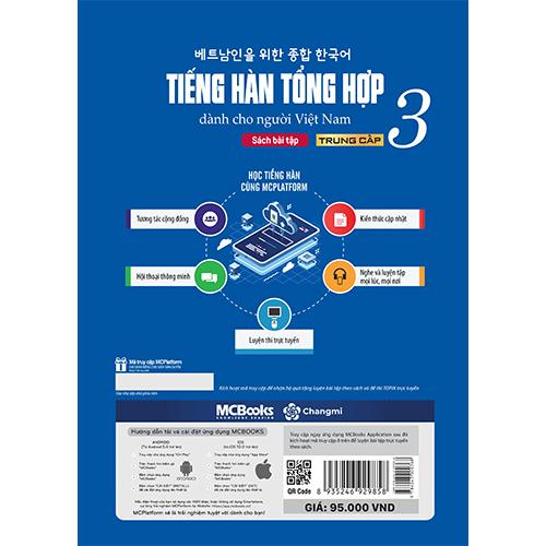 Sách bài tập Tiếng Hàn Tổng hợp trung cấp 3 - Ảnh 2