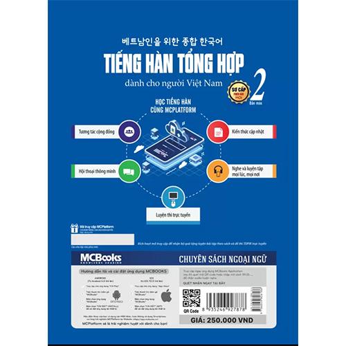 Tiếng Hàn tổng hợp dành cho người Việt Nam – Sơ cấp 2 – Bản màu - Ảnh 2