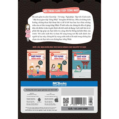 Bộ sách dành cho người tự học – Hội thoại giao tiếp tiếng Nhật - Ảnh 3