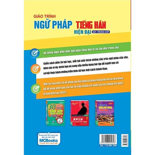 Giáo trình ngữ pháp tiếng Hán hiện đại – Sơ Trung Cấp - Ảnh 2