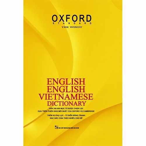 Từ điển Anh – Anh- Việt (Bìa cứng)
