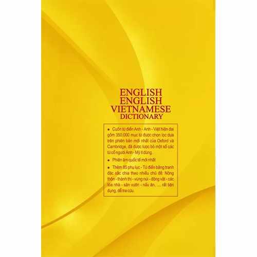 Từ điển Anh – Anh- Việt (Bìa cứng) - Ảnh 3