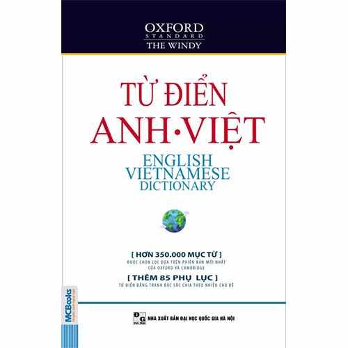 Từ điển Anh – Anh- Việt (bìa mềm trắng)
